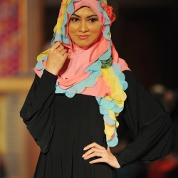 Kuala Lumpur,14/10/2012. Moslema in style fashion show at PWTC. (repoter sophia) Pic Firdaus Latif