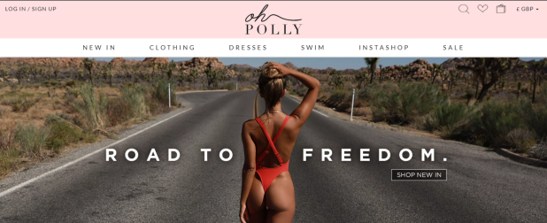 oh polly web page