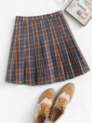 plaid skirt 2