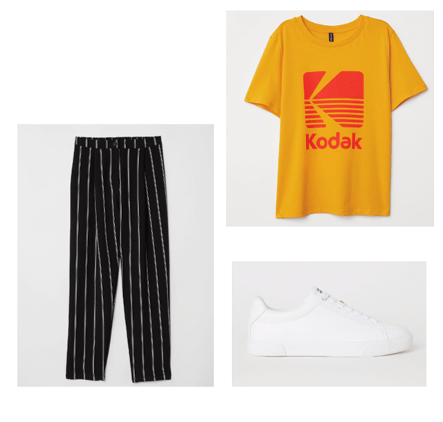 casual uni look