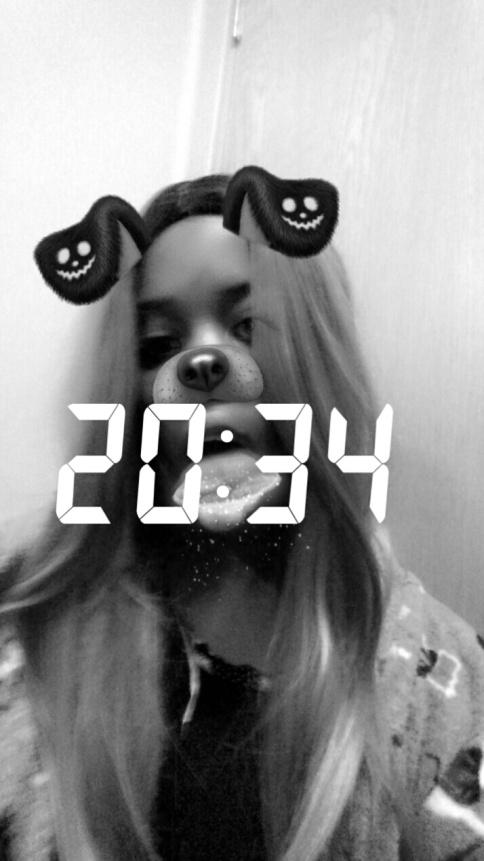 Snapchat filter wig 2